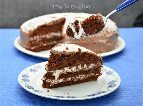 torta al cioccolato bagnata torta morbida al cioccolato con crema al cocco 19 marzo