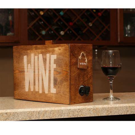 Box Wine Dispenser / Wedding Reception / Wine Decanter