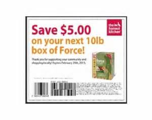 printable coupon save 5 on the honest kitchen