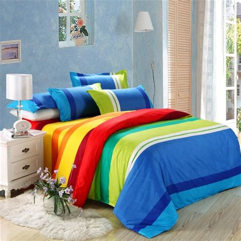 rainbow bedding compare prices on rainbow bedding set online shopping buy low price rainbow bedding