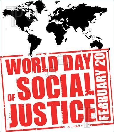 world day  social justice  thursday february