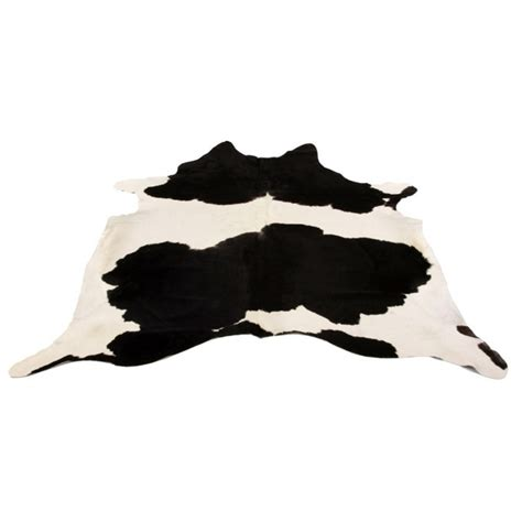 Black White Cowhide Rug - cowhide rug black white by design by free shipping