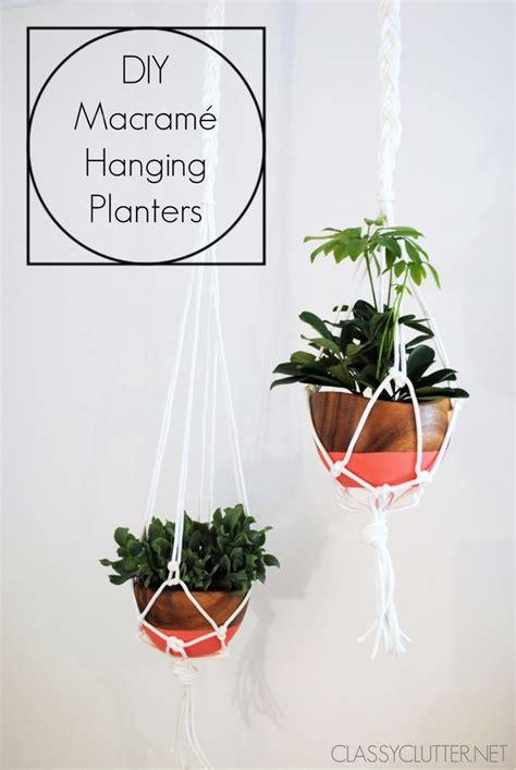 hanging plant diy 569 best images about plants indoor hanging diy pots