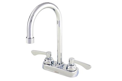 commercial two handle 3 installation lavatory faucet