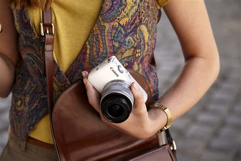 Leather Canon M10 Kit 15 45mm Quality Limited dslr performance in a small package the eos m10 and ef
