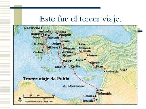 cuarto viaje misionero de pablo mapa san pablo