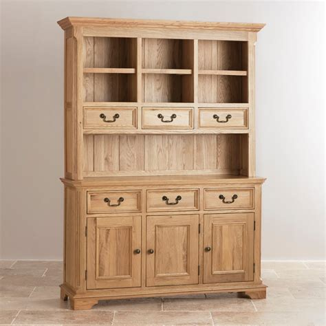Large Dressers Furniture by Edinburgh Solid Oak Large Dresser By Oak Furniture