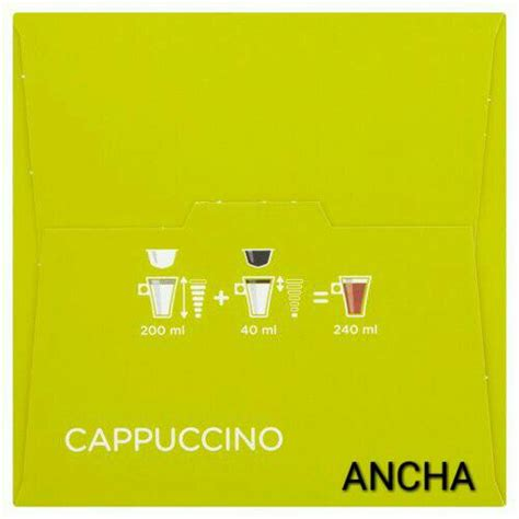Dolce Gusto Cappuccino By Ancha jual dolce gusto cappuccino ancha