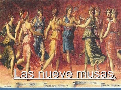 imagenes mitologicas griegas significado las nueve musas