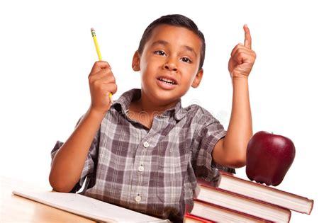 raising royalty books hispanic boy raising his books apple pencil and