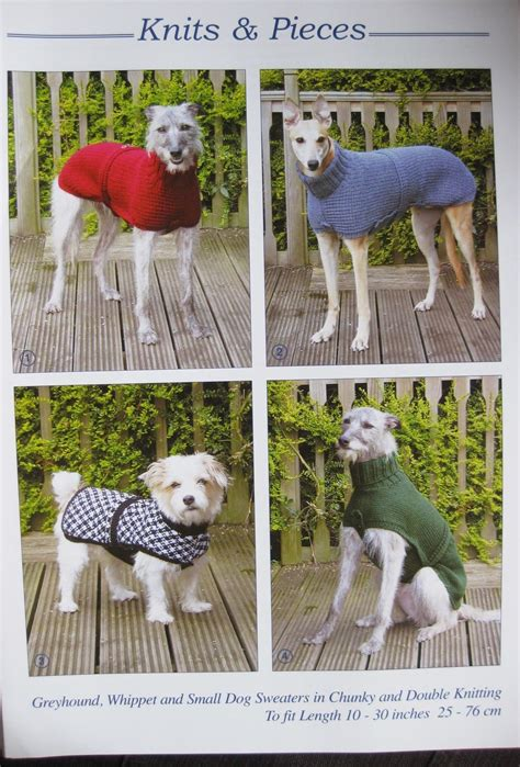 knitting patterns for dog coats australia pattern for knitted dog coat sweater greyhound whippet