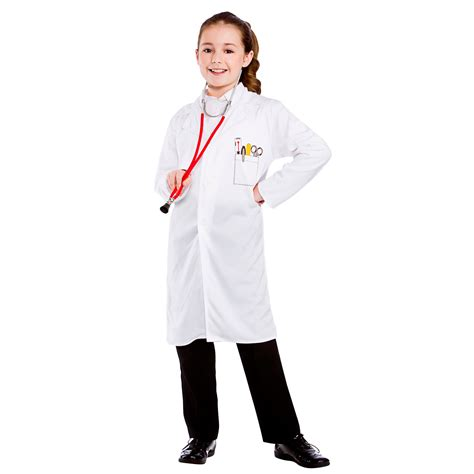 Doctor Who Ebay Blowout For Children In Need by Childrens Unisex White Doctors Coat Fancy Dress Up