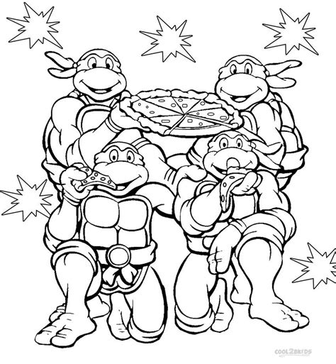 coloring pages ninja turtles printables printable nickelodeon coloring pages for kids cool2bkids