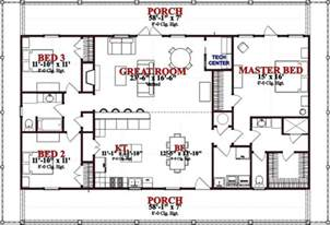 Beach Style House Plan 3 Beds 2 Baths 1800 Sq Ft Plan