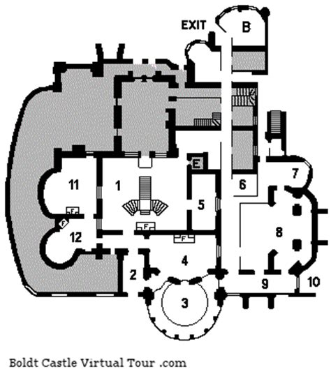 boldt castle floor plan foundation plans boldt castle a virtual tour