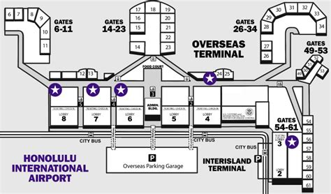 honolulu airport map paracom contact us