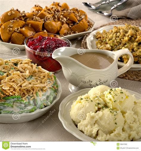 dish for dinner thanksgiving side dishes stock photo image 39847692