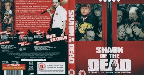Of The Dead 2004 Dvd Collection Koleksi dvd and vhs covers shaun of the dead dvd cover