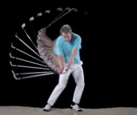 slow motion golf swing from behind sony ax100 drake s golf sports