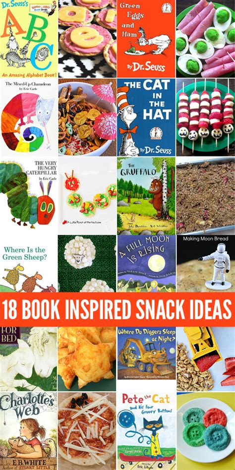 picture books ideas 18 picture book inspired snacks for