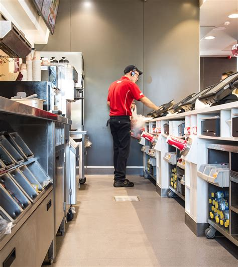 kfc till layout safety flooring and cladding solutions altro