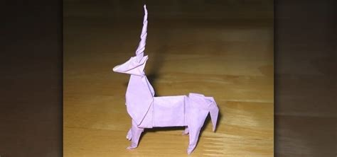 Origami Unicorn Easy - how to origami a unicorn 171 origami wonderhowto