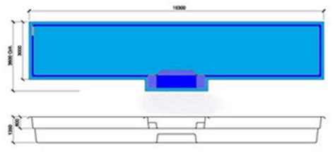 lap pool sizes range ii