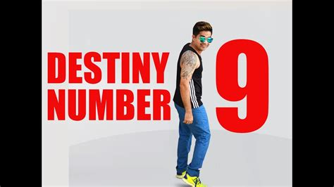 numerology destiny number 9 youtube