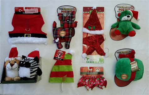 wholesale resale lot of 21 holiday christmas novelty pet