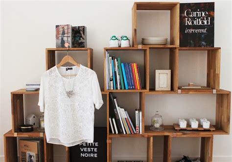 Modern Modular Bookcase diy recycler une caisse en bois deco en 40 id 233 es