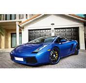 Fondo De Pantalla Lamborghini Azul HD