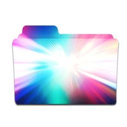 Set Flowish colorburst文件夹图标免费下载 colorburst folder图标 png ico 图标之家