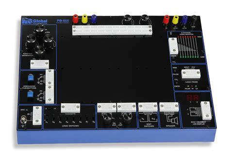 breadboard circuit design trainer pb 505 deluxe analog and digital design trainer