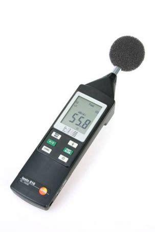 is noise testo testo 816 sound level meter testo esi enviropro