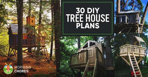 Diy House Plans 30 diy tree house plans amp design ideas for adult and kids