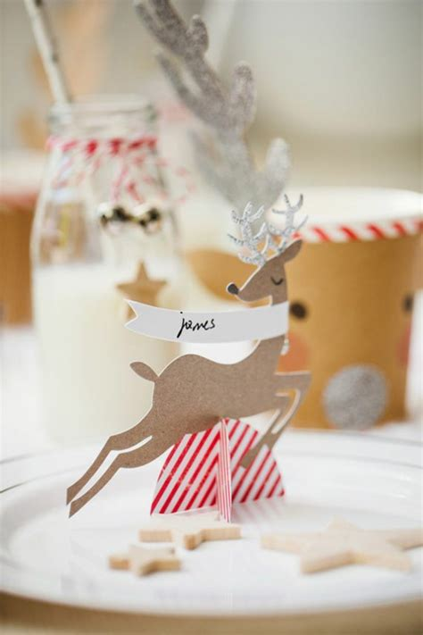 originelle wandlen so k 246 nnen sie originelle weihnachtliche tischkarten basteln
