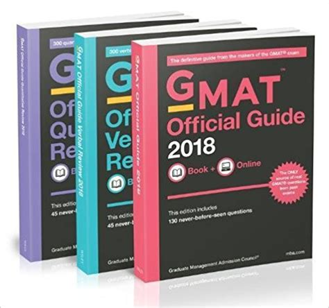 gmat official guide 2018 book how to study with the gmat official guide 2018