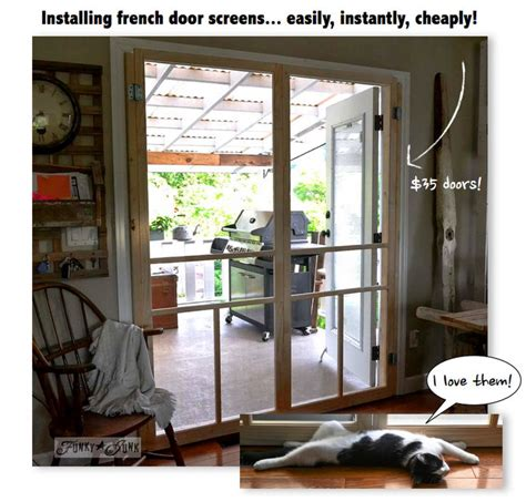 Cheap Sliding Glass Patio Doors Installing Screen Doors On French Doors Easy And Cheap