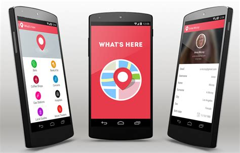 What S Here Android App Template Android Mobile App Templates