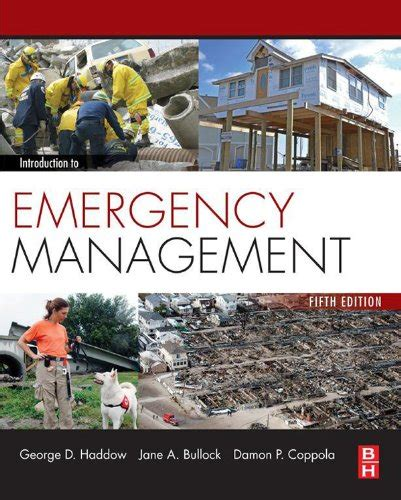 Mba Disaster Management by Pdf Introduction To Emergency Management By George Haddow