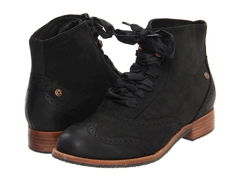 sebago boots sebago claremont boot in black lyst
