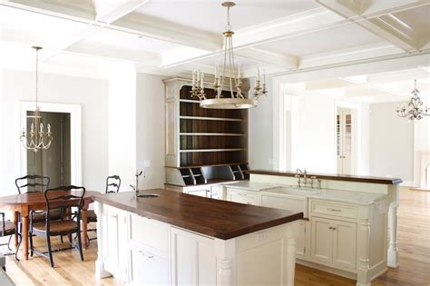 off white country kitchen cabinets double kitchen islands design ideas