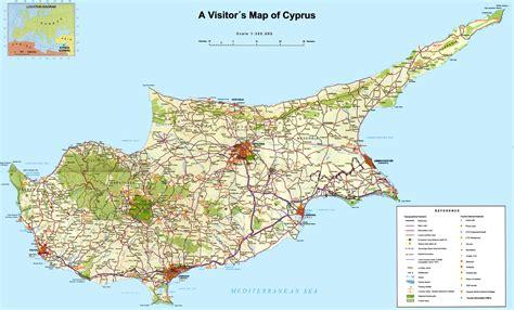 republic  cyprus maps