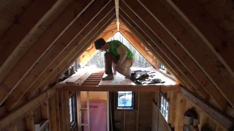 Houses With Floor Plans by Making Tongue And Groove Flooring For Tiny House Loft