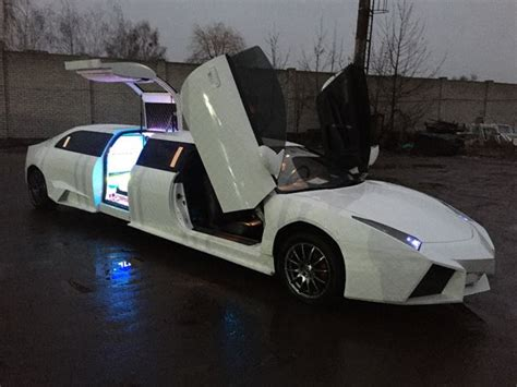 limousine lamborghini lamborghini reventon limo is based on mitsubishi eclipse