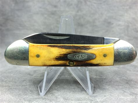 canoe knife 1981 case xx usa 53131 ssp stag canoe pocket knife
