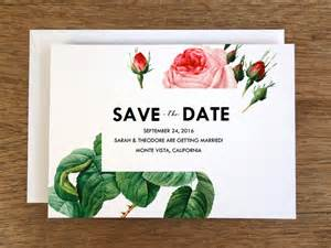 vintage save the date template save the date template vintage roses