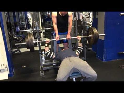 rock bench press 180 kg bench press weighing 13 stone 12 youtube