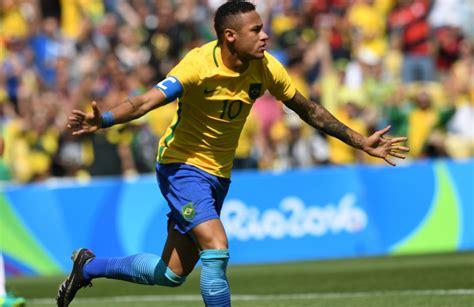 olympic football 2016 olympics brazil thrash honduras in s