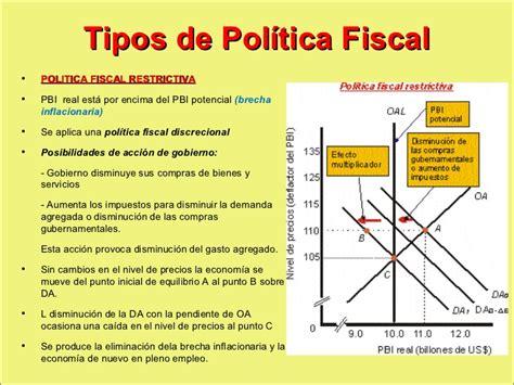 tipos de regimenes fiscales 2016 politica fiscal macro
